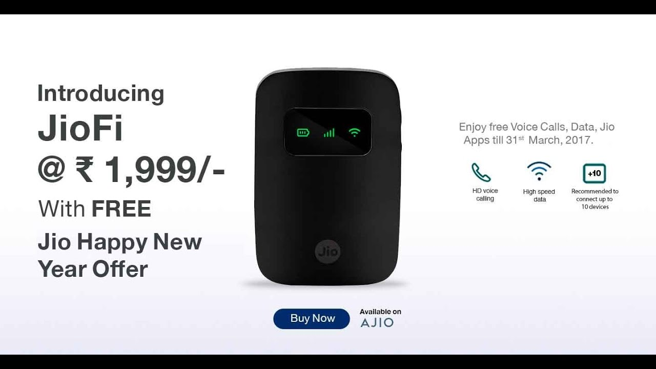 Jiofi 3: Everything you need to know – Think Smart !!!!!